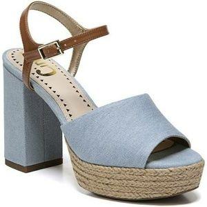 👡🆕Sam Edelman saddle sea blue Nwt